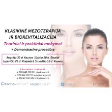 Klasikinė mezoterapija ir biorevitalizacija