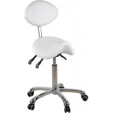 Specialisto kėdė su balno formos sėdyne ir atlošu
