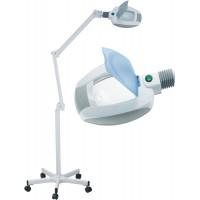 Kosmetologinė LED lempa - lupa 3 dioptrijų (lęšis 13cm)