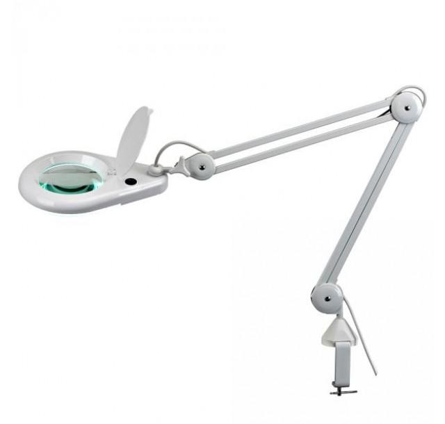Klasikinė kosmetologinė LED lempa - lupa 3 dioptrijų