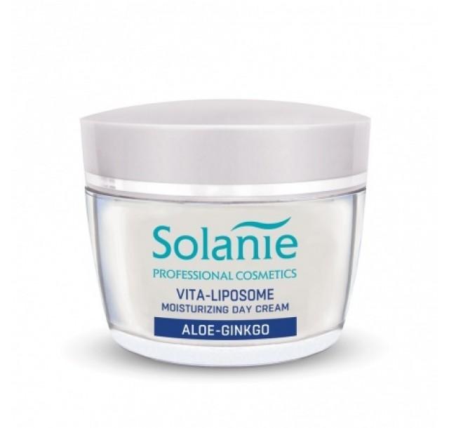 Drėkinamasis veido kremas su alaviju Aloe Ginkgo, 50 ml
