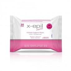 Drėgnos intymios higienos servetėlės, 20 vnt