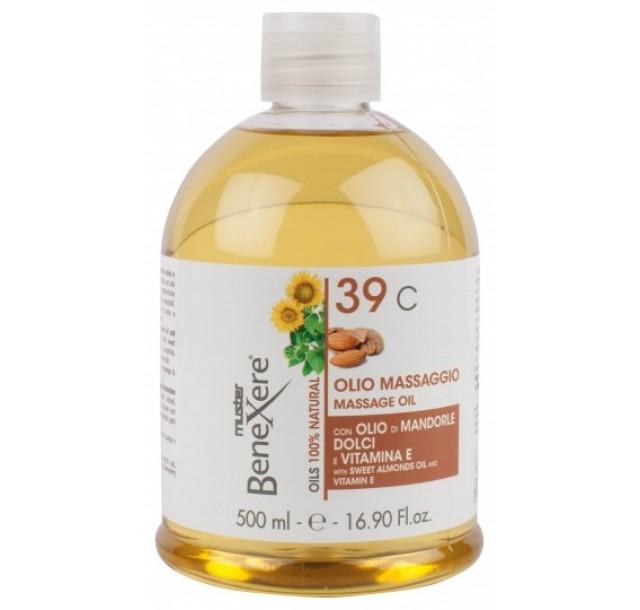 Saldžiųjų migdolų masažo aliejus 39C, 500 ml