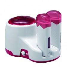 Kombinuotas depiliacinio vaško šildytuvas Pink