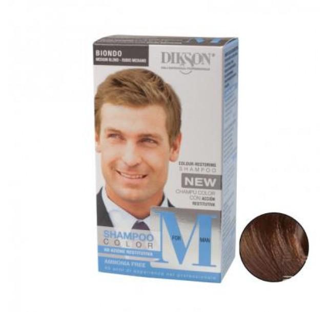 MforMan dažantis plaukų šampūnas vyrams Medium Blond, 55ml