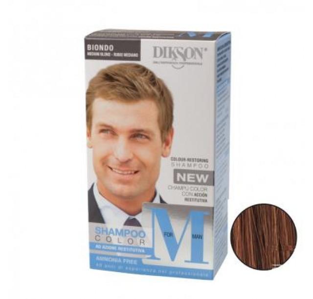 MforMan dažantis plaukų šampūnas vyrams Lightest Brown, 55ml
