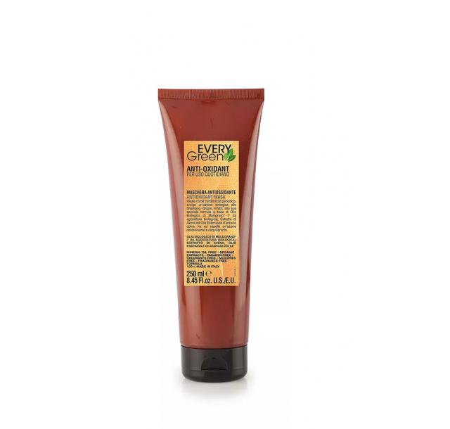 Natūrali kasdienio naudojimo plaukų kaukė Antiossidante, 250/500 ml