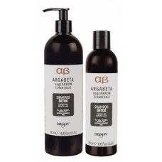 ArgaBeta Detox valomasis šampūnas su anglimi, 250/500ml