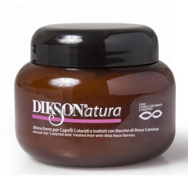 Natūrali kaukė dažytiems plaukams DiksoNatura, 250ml