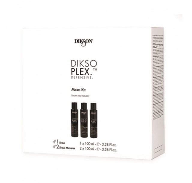 DiksoPlex rinkinys plaukų apsaugai, 3x100ml