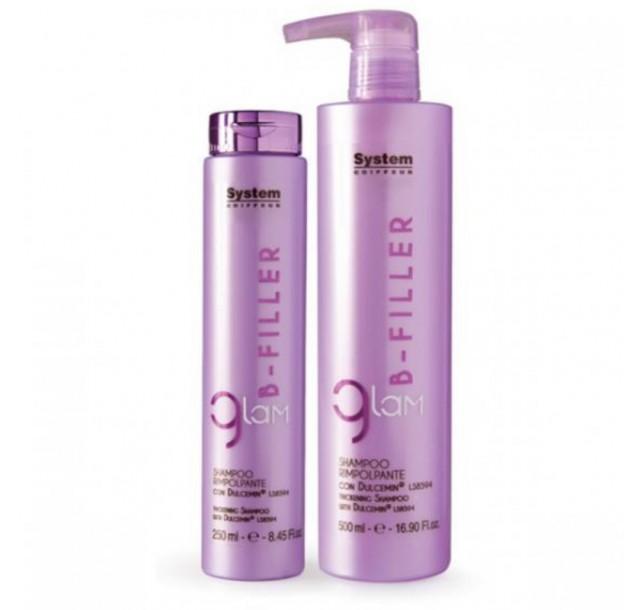 B-filler apimties suteikiantis šampūnas, 250/500 ml