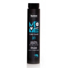 Kremas - blizgesys garbanoms Move Me 31, 250ml