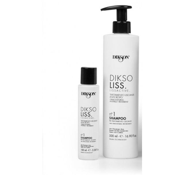 Paruošiamasis - valomasis šampūnas DiksoLiss nr. 1, 100/500ml