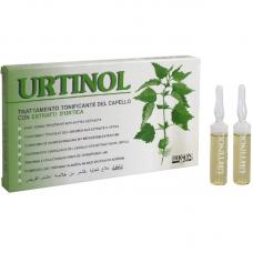 Ampulės riebiai galvos odai Urtinol, 10x10ml