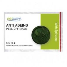 Anti-ageing alginatinė kaukė su spirulina, 15 g