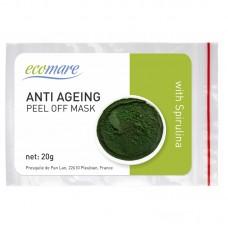 Anti-ageing alginatinė kaukė su spirulina, 20 g