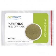 Valanti alginatinė kaukė su žaliuoju moliu, 20 g