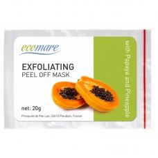 Eksfoliacinė alginatinė kaukė su papaja ir ananasu, 20 g