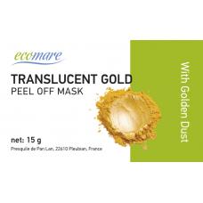 Prabangi alginatinė kaukė su aukso dulkėmis, 15 g