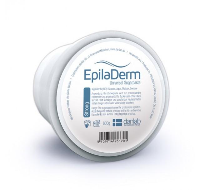 EpilaDerm cukraus pasta epiliacijai Strong, 800g
