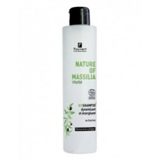 Natūralus plaukus atgaivinantis šampūnas su guarana Massilia, 200/1000ml