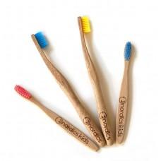 Bambukinių dantų šepetėlių rinkinys visai šeimai