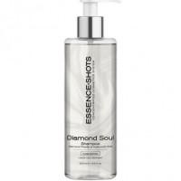 """Plaukų šampūnas su hialuronu ir deimantų dulkėmis """"Diamond Soul"""", 250 ml"""