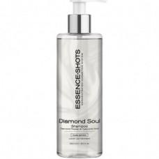 DIAMOND SOUL Plaukų šampūnas su hialuronu ir deimantų dulkėmis, 250 ml