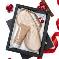 """Kalėdinis rinkinukas """"White Silk Beige"""""""