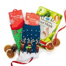 """Kalėdinis rinkinukas """"Foot Christmas Double"""""""