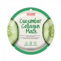 Kolageno kaukė su agurkų ekstraktu