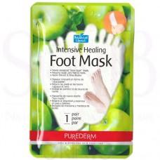 Drėkinamoji pėdų kaukė su obuolių ekstraktu