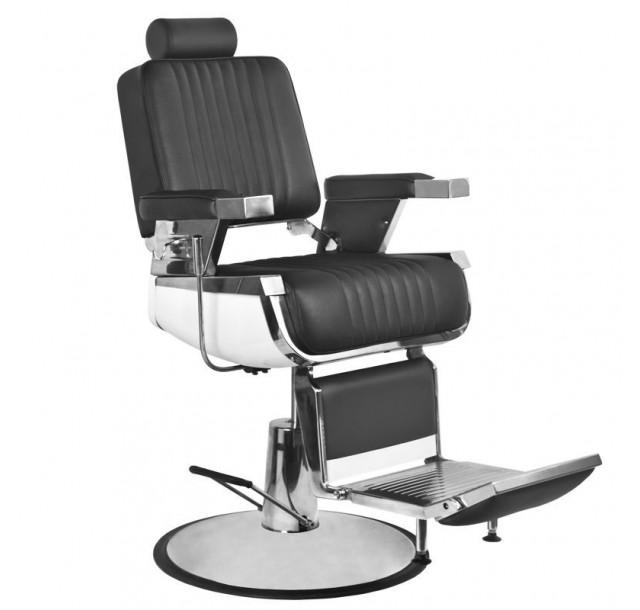 Barzdos kirpėjo kėdė ROYAL (Juoda / Ruda)