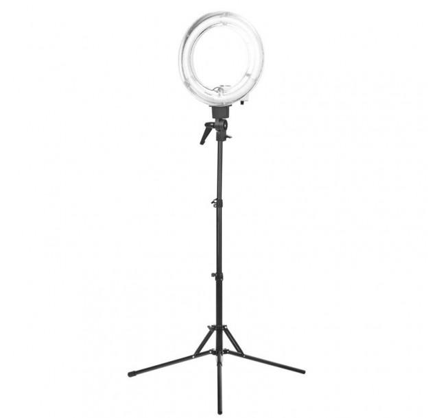 Žiedinė LED makiažo lempa 18