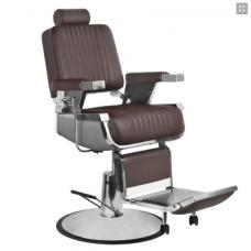 Ruda barzdos kirpėjo kėdė