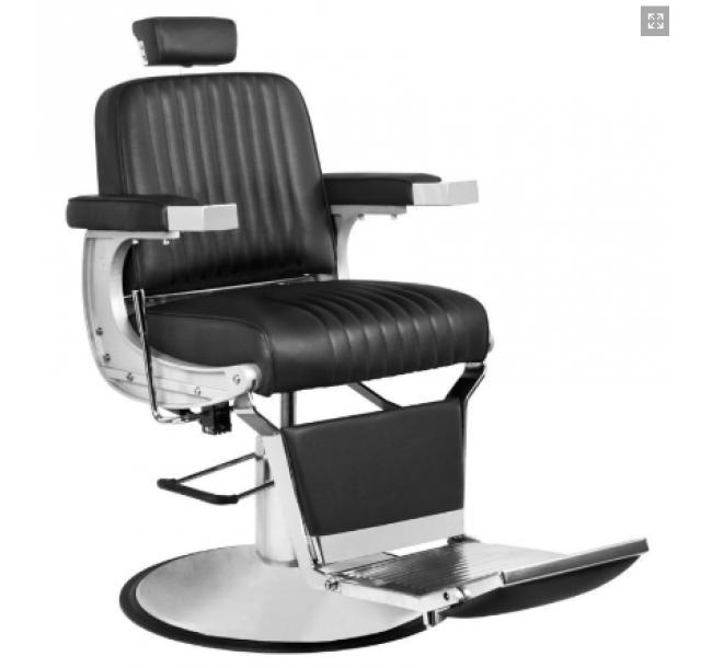 Barzdos kirpėjo kėdė CONTINENTAL (Juoda / Ruda)