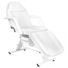 Kosmetologinė kėdė (balta / pilka / juoda)