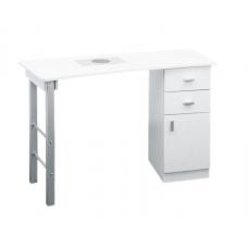 Manikiūro stalas su filtru ir ratukais 130 cm