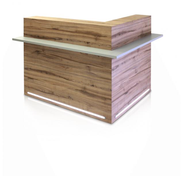 REM registratūros stalas Windsor 122cm