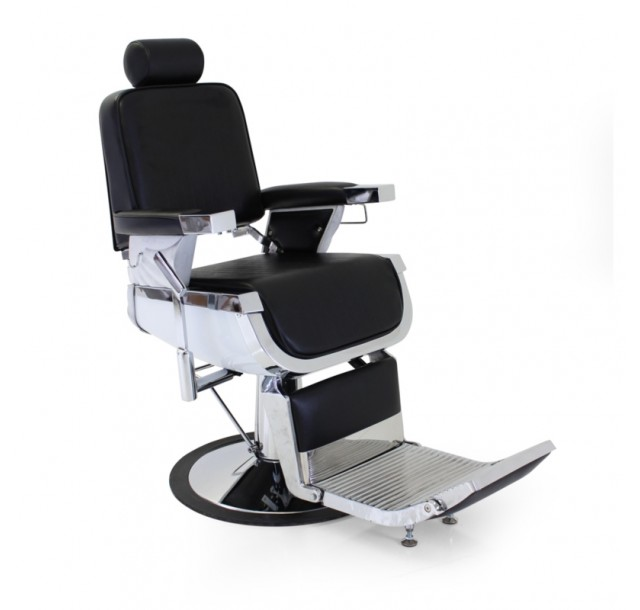 REM juoda barzdos kirpėjo kėdė Emperor Classic
