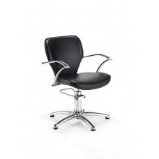 REM juoda kirpyklos kėdė Miranda