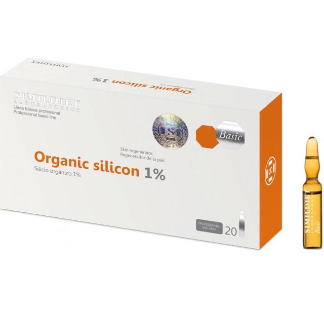 Organinis silikonas 1 %, 3x2ml