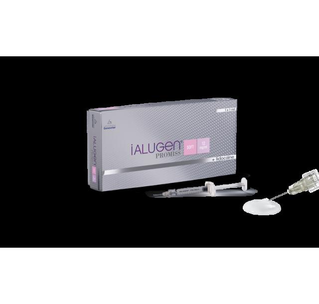 iALUGEN PROMISS užpildas lūpoms SOFT, 12 mg/ml