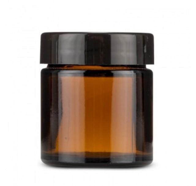 Stiklinis indelis kremui, 100 ml